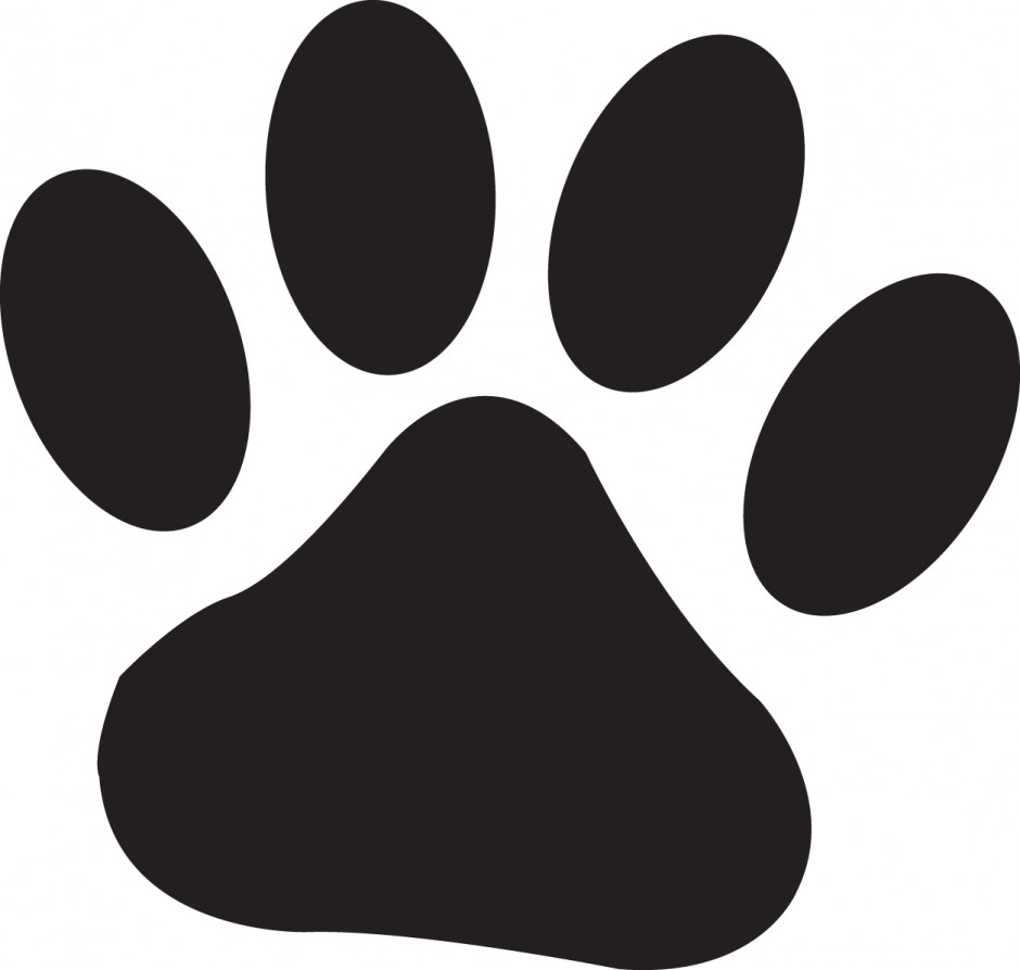 940x894 Lion Paws Clipart