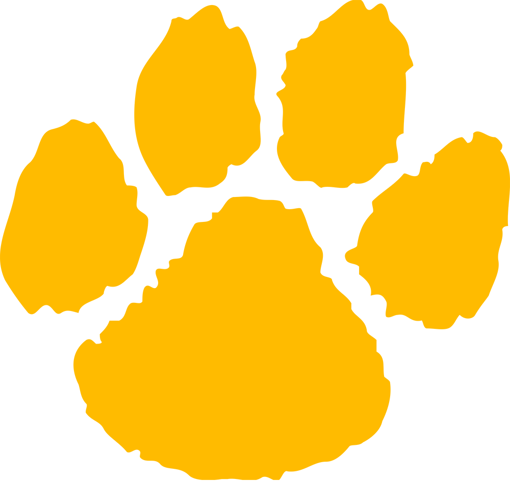 1000x945 Paw Clipart Gold