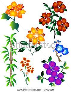 236x304 Corner Border Floral Color Stock Vectors amp Vector Clip Art