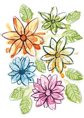 269x380 58 best Flower vector clip art images Drawings