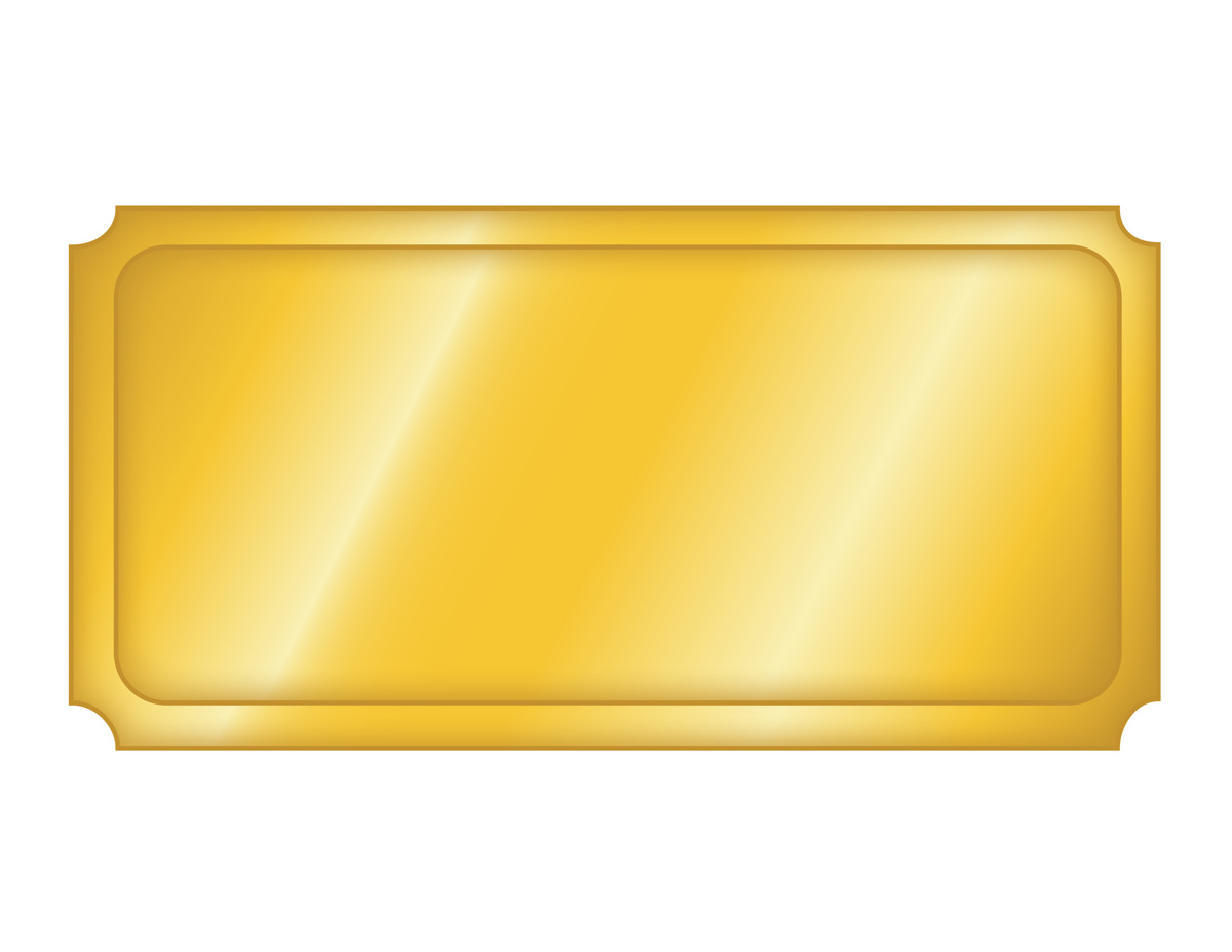 1200x927 Golden Ticket Template Free