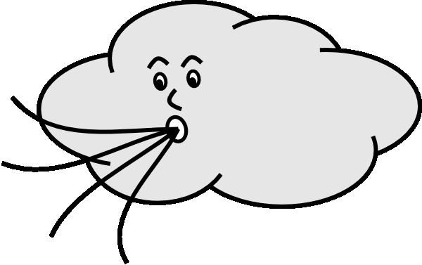 600x377 Wind Blowing Cloud Clip Art