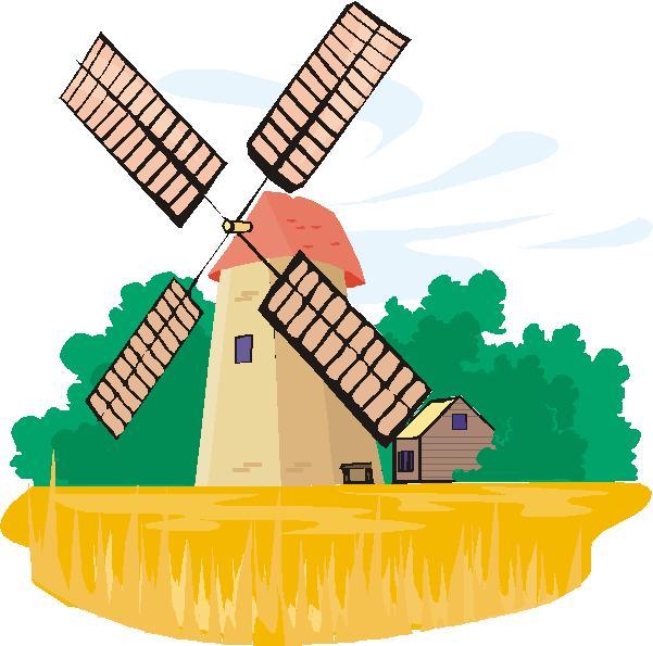 601x595 Wind Mill Clipart