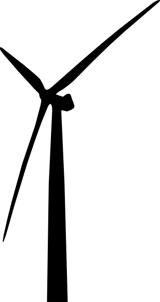 318x599 Wind Turbine Clip Art