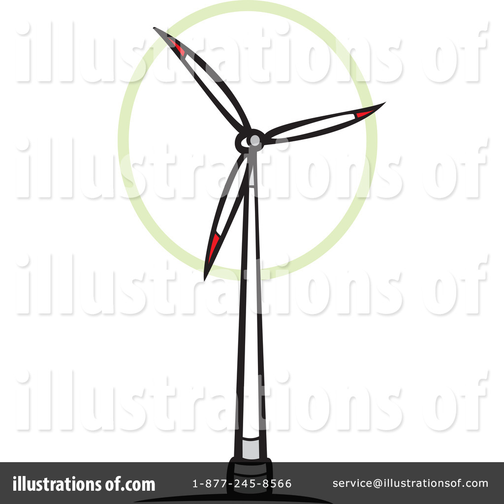 1024x1024 Wind Turbine Clipart Windmill