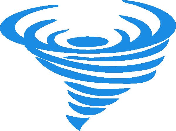 600x447 Blue Wind Logo Tp Clip Art