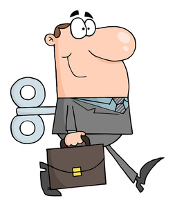 253x300 Business Clipart Image
