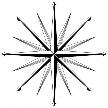 425x425 Wind Rose Compass Rose Clip Art Vector Clip Art Free Vector Free