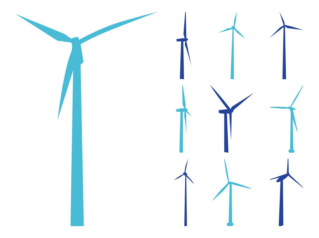 1024x765 Wind Turbine Clip Art