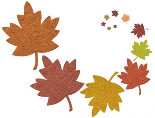 520x395 Free Clip Art Fall Leaves