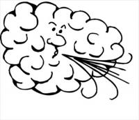 200x174 Free Wind Clipart