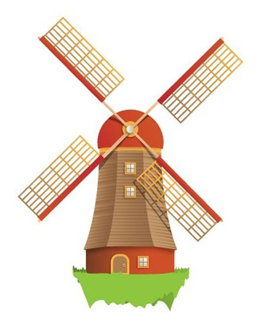 Wind Mill Clipart