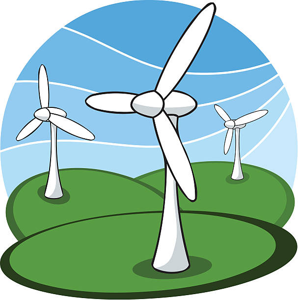 607x612 Wind Turbine Clipart Animated
