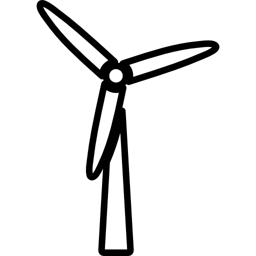 512x512 Turbine, Wind Icon
