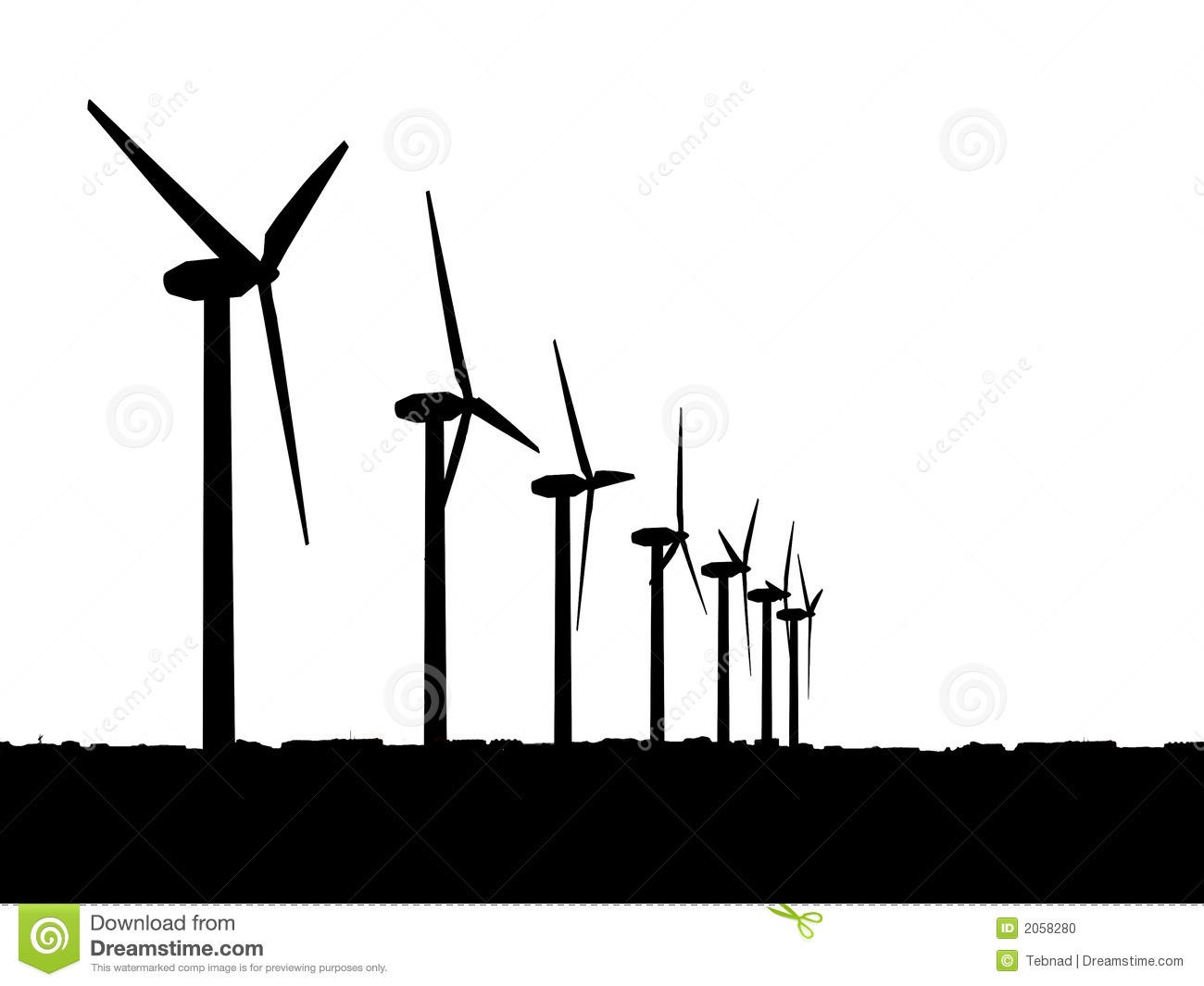 1300x1065 Wind Turbine Clip Art How To Hide Electrical Wires