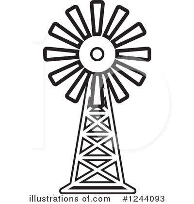 400x420 Wind Turbine Farm Clip Art Cliparts