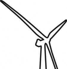 226x233 Wind Turbine Clip Art Free Vectors Ui Download