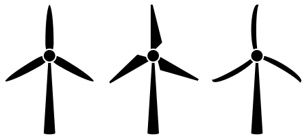 448x203 Wind Turbine Clipart Drawing