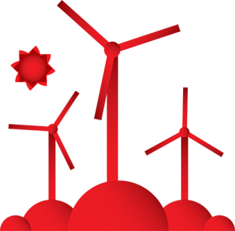 339x332 Wind Turbine Clipart Mill