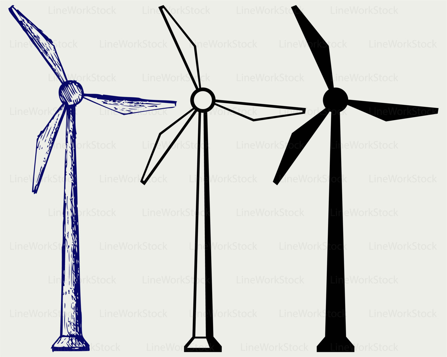 1500x1200 Windmill Clipart Electric