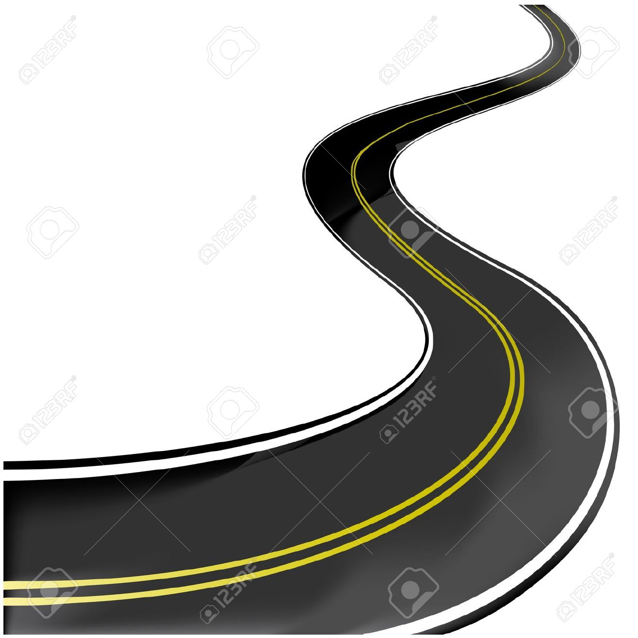 1300x1300 Highway Clipart Winding Road
