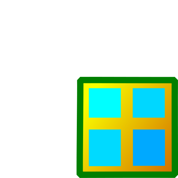 600x600 Window Clipart Rectangle