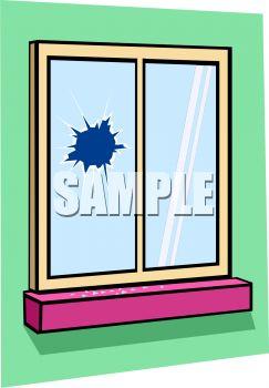 243x350 Broken Window