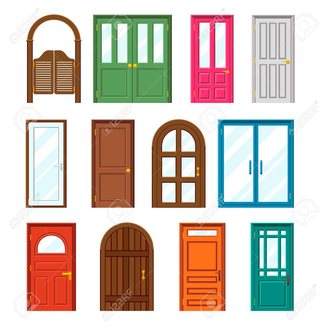House window clipart free download best house window for Window design cartoon