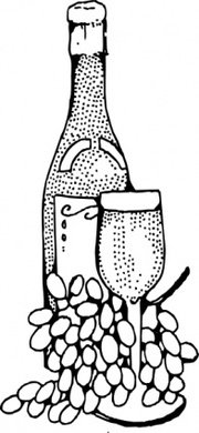180x390 Wine And Cheese Clip Art, Vector Wine And Cheese