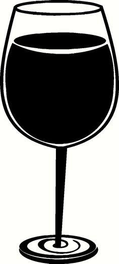 236x521 Wine Glass Clipart Wine Glass Clipart Wine Glasses Silhouette Clip