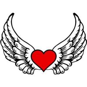 300x300 Angel Wings Clipart