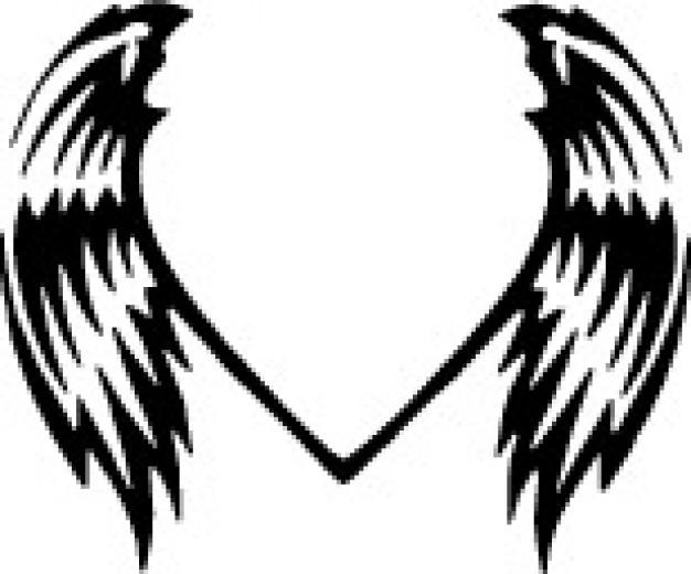 626x520 Animal Wings Vector Clip Art Vector Free Download