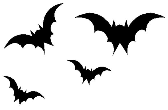 589x387 Bat Wings Clipart