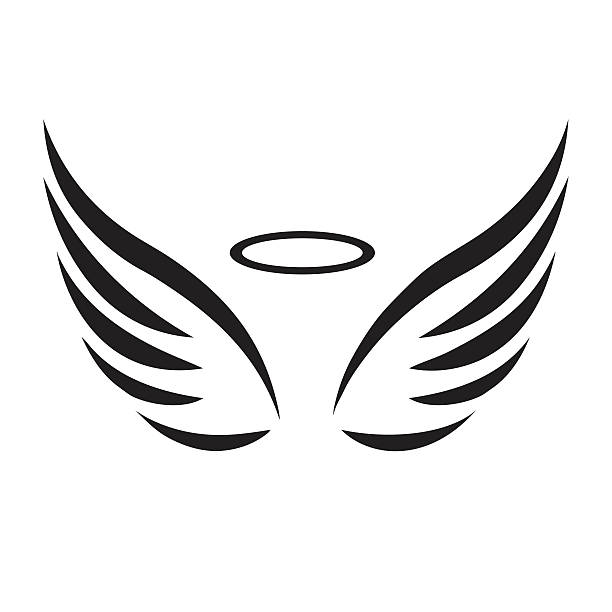 612x612 Lovely Design Ideas Angel Wings Clip Art Vector Images