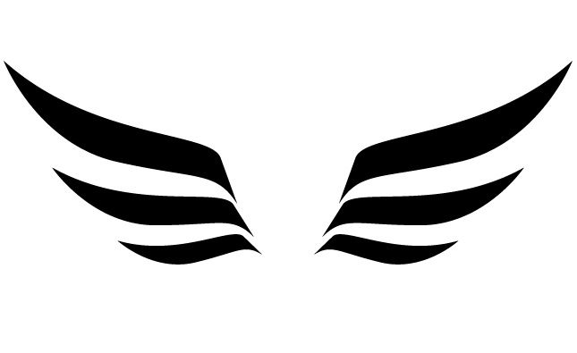 645x395 Vector Clipart Wing