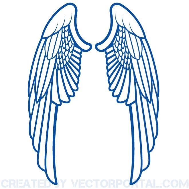 660x660 Wings Clip Art Free Vector Free Vectors Ui Download