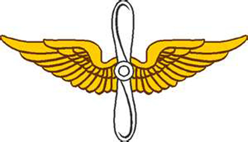 500x287 Aviation Wings Clipart