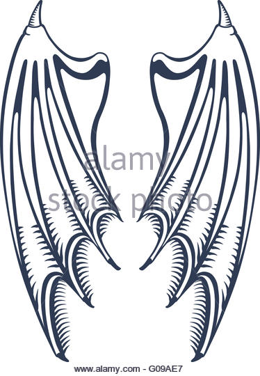 374x540 Black Outline On Wings Stock Photos Amp Black Outline On Wings Stock