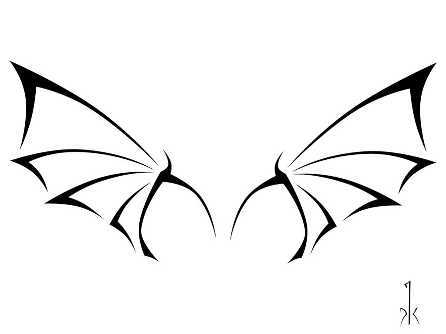 900x675 Dragon Wings Tattoo By Krullfilth
