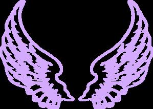299x213 Purple Angel Wings Clip Art