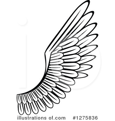 400x420 Wings Clipart Illustration