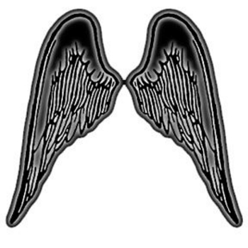 350x350 Angel Wing Clip Art Free Vector Of Angel Wings Tattoo Free Image 2