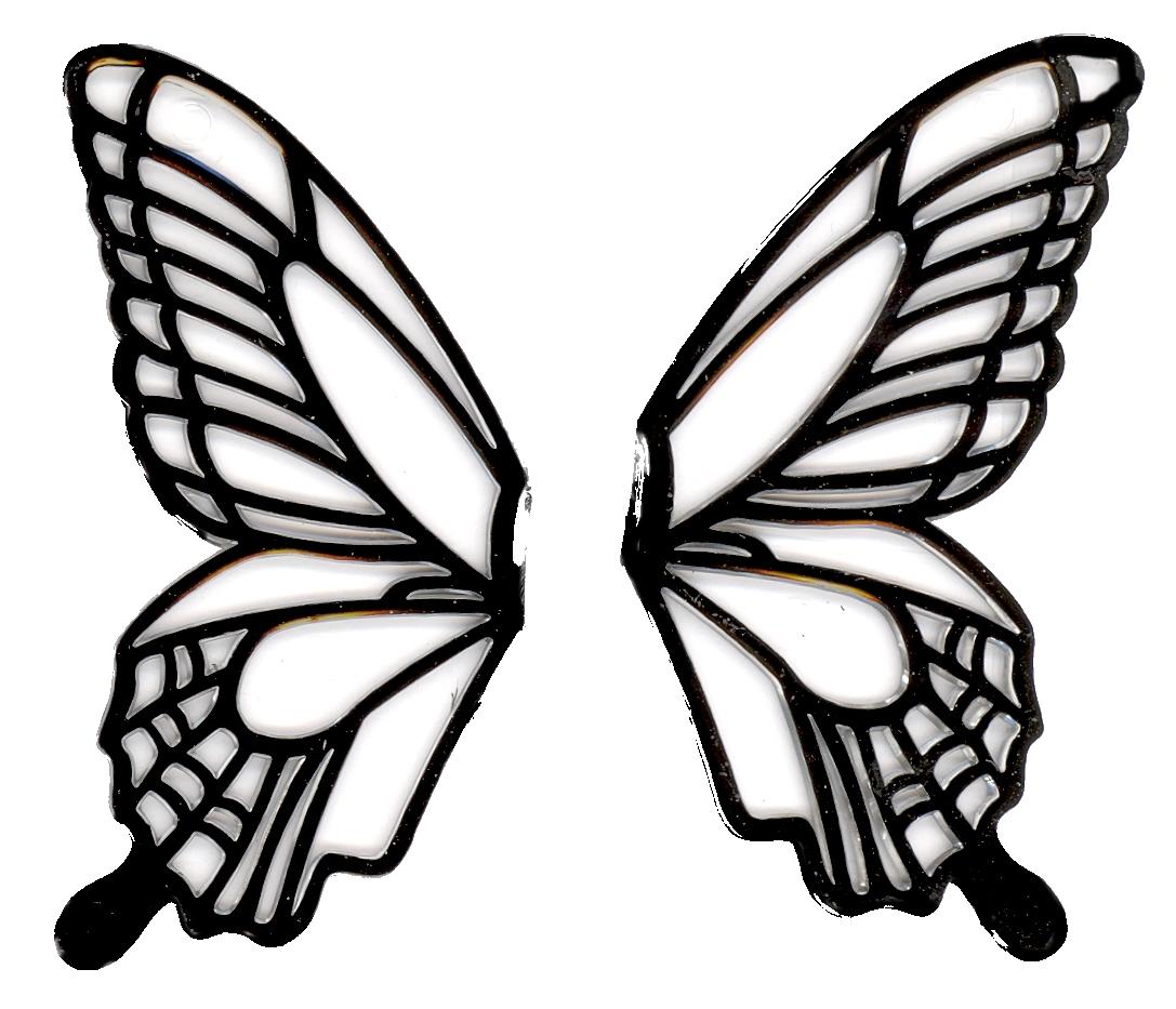 1087x933 Monarch Butterfly Clipart Butterfly Wing