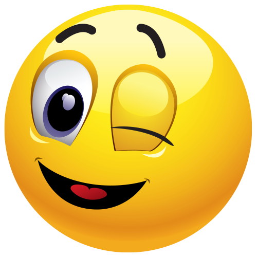 500x500 Winking Emoticon Emoticon, Symbols And Smileys