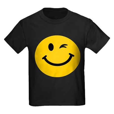 460x460 Winking Smiley Face Kid's Clothing Winking Smiley Face Kid'S