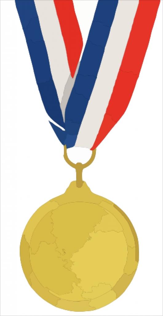 530x1024 Gold Medal Clip Art For Teachers Gold Medal Winner Clipart Clipart Kid