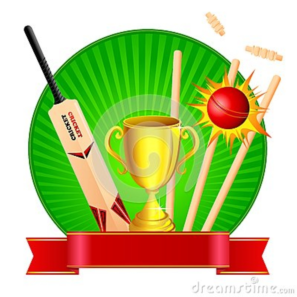 1024x1024 Cricket Trophy Clipart Free Download Cricket Stumps Stock