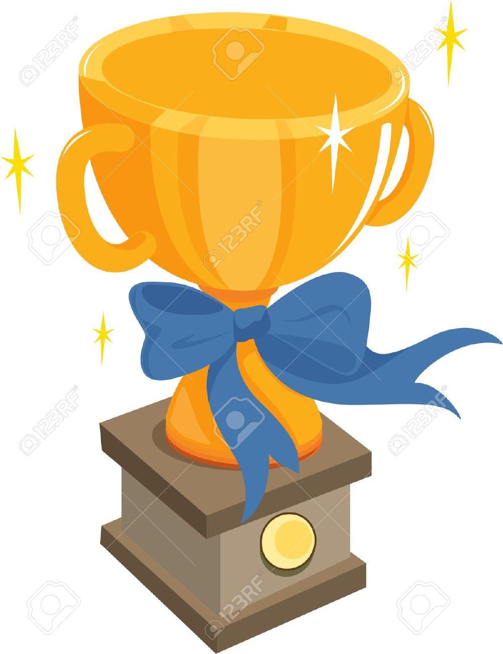 Winner Trophy Clipart
