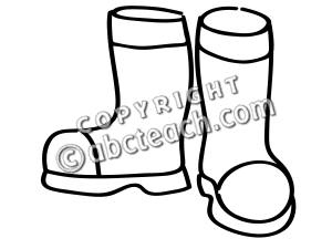 300x225 Clip Art Black And White Winter Boots Clipart