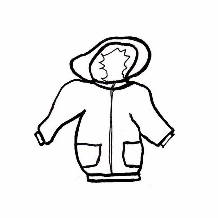 750x750 Winter Jacket Clipart